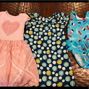Girl Dresses and Swimsuit